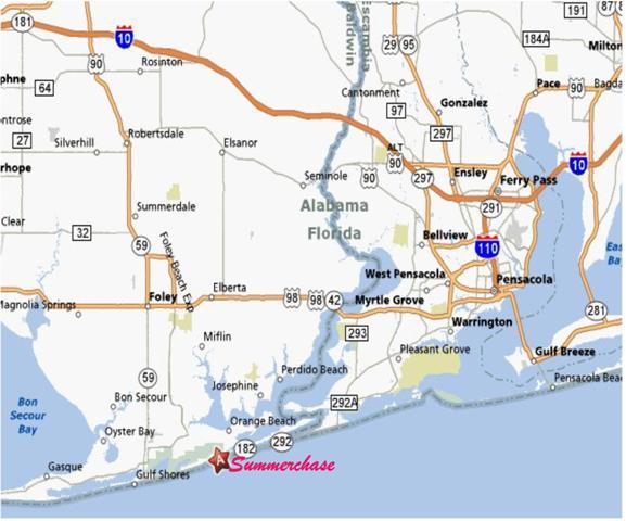 Orange Beach Florida Orange Beach is Situated